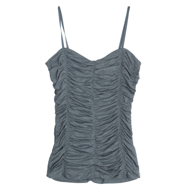 D and G Sleeveless Ruched Top S