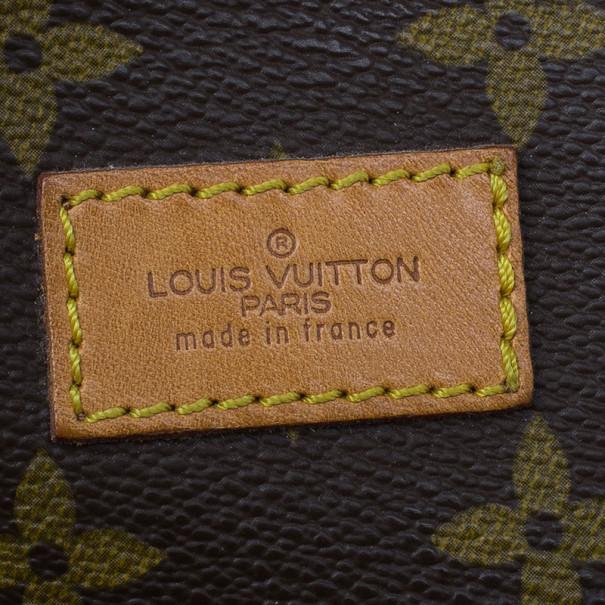 Louis Vuitton Monogram Canvas Saumur Messenger 35