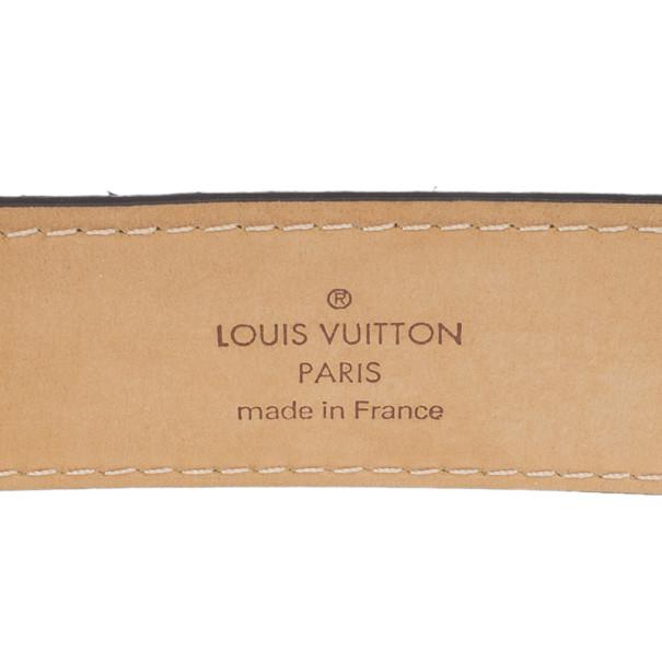 Louis Vuitton Ellipse Monogram Canvas Belt 85CM
