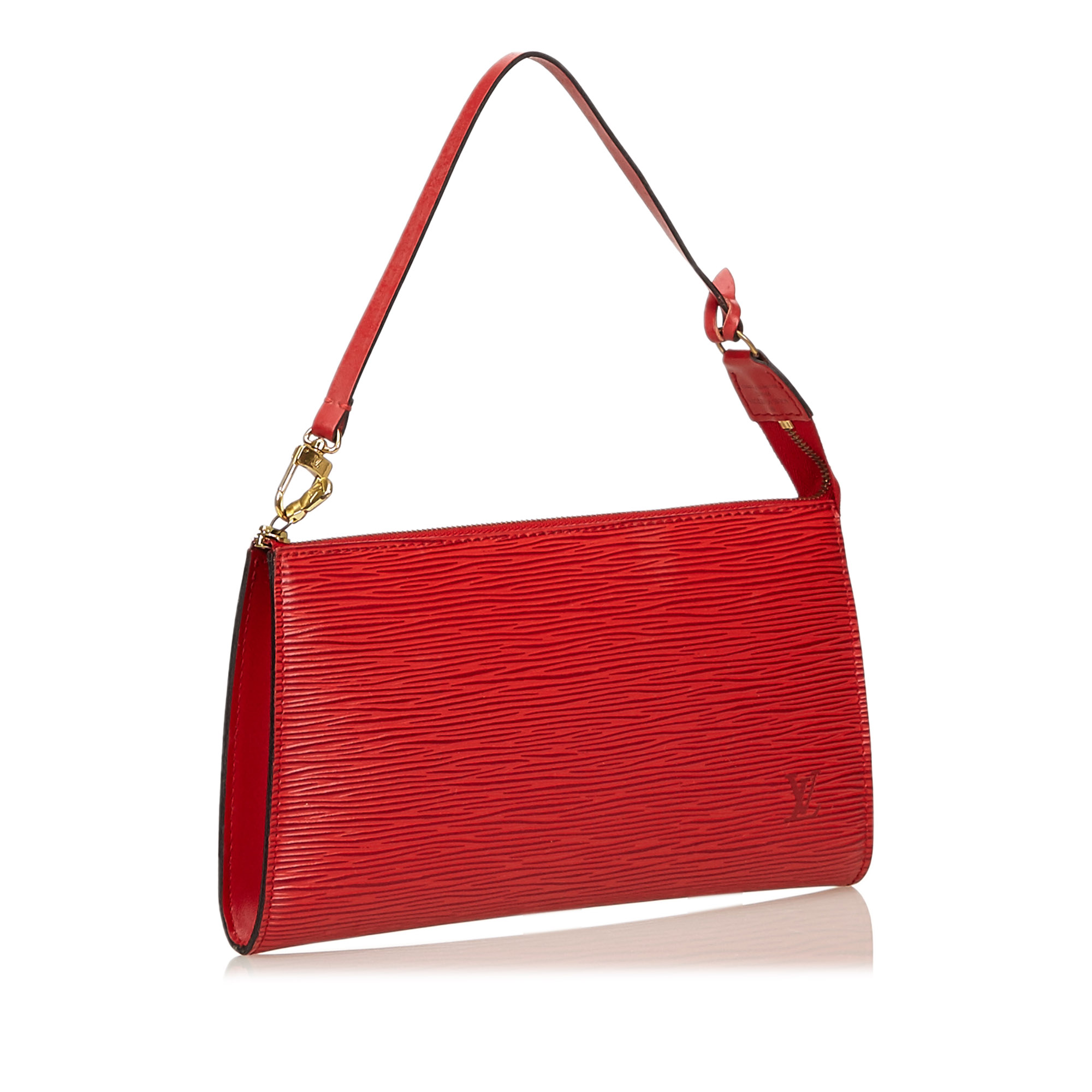 Louis Vuitton Rouge Epi Leather Pochette