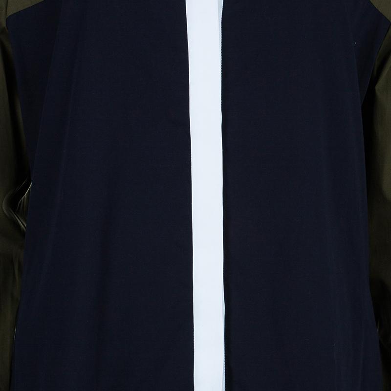 Prabal Gurung Colorblock Shirt M