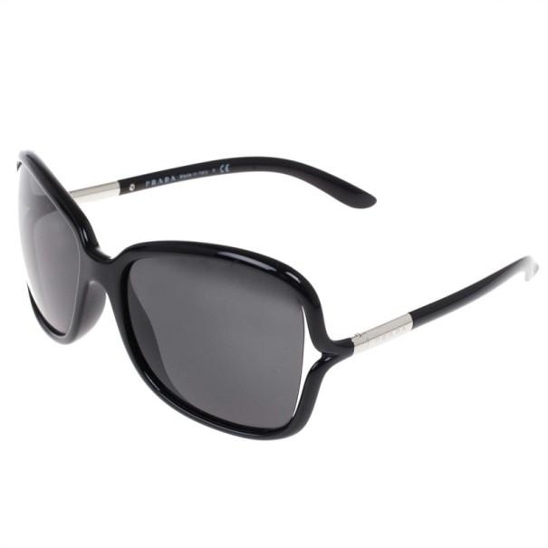 Prada Black Oversized Square Sunglasses