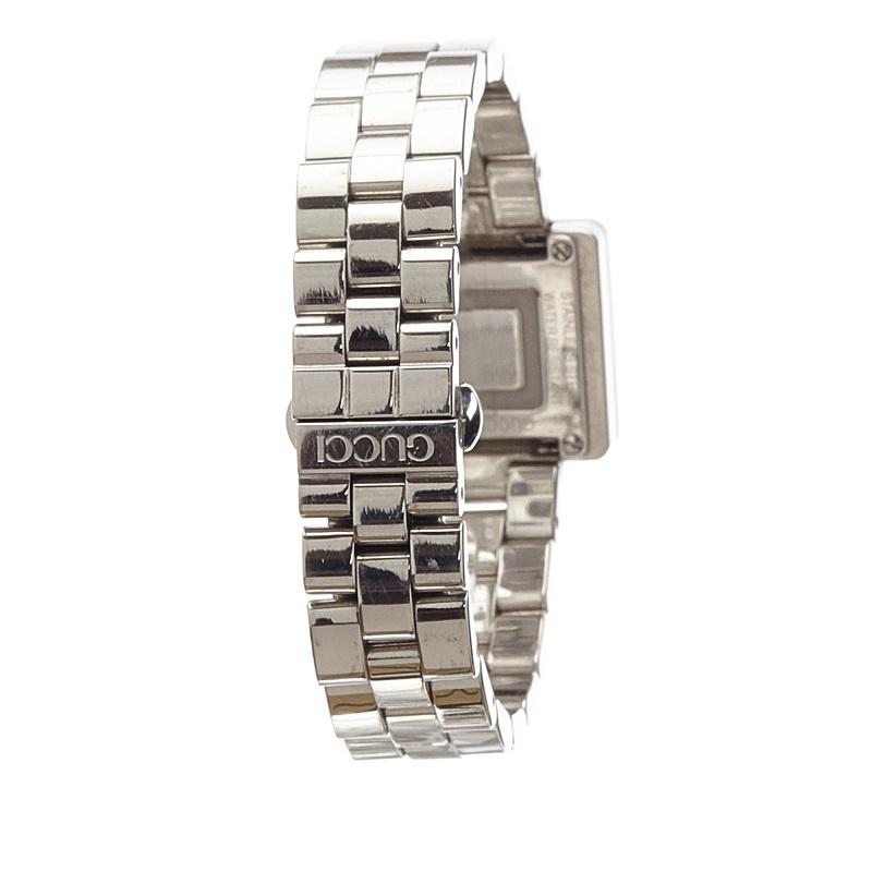 Gucci Black Stainless Steel 3600L Women's Wristwatch 26MM
