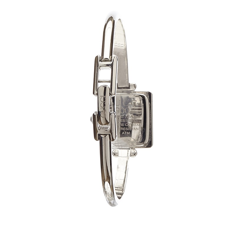 Gucci White Stainless Steel 1900L Women's Wristwatch 22MM