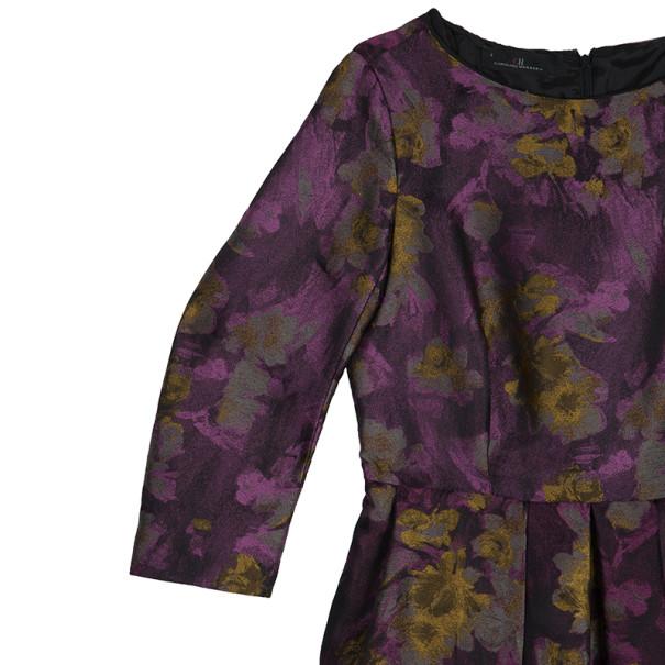 CH Carolina Herrera Floral Printed Dress M