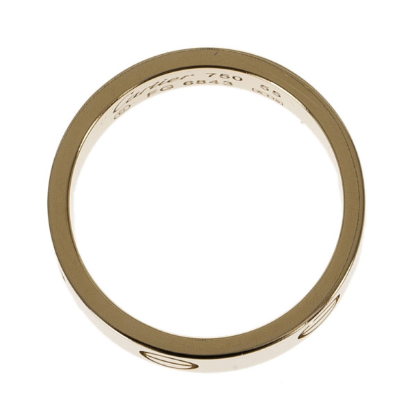 Cartier 18K Yellow Gold Love Ring Size 55