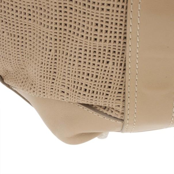 Burberry Brown Leather Beaton Bag