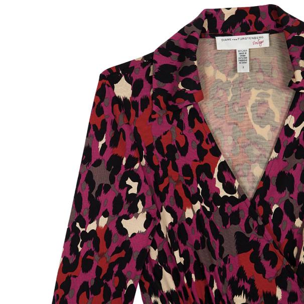 Diane Von Furstenberg Vintage Judy Wrap Dress S