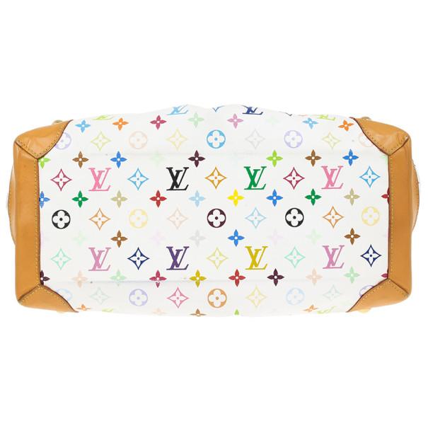 Louis Vuitton White Monogram Multicolore Ursula Bag
