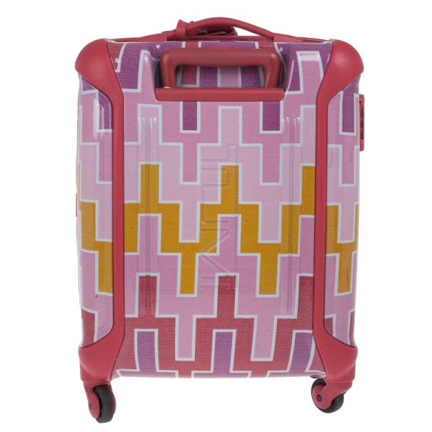 Tumi Pink Printed Trolley