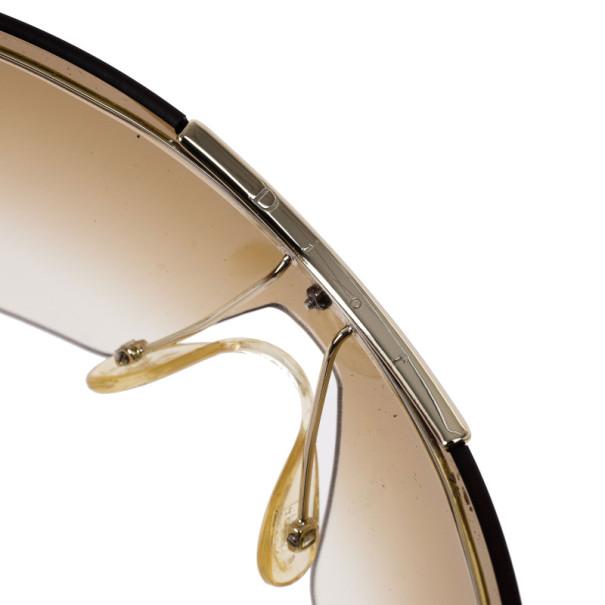 Dior Tortoise Frame Airspeed 1 Shield Sunglasses