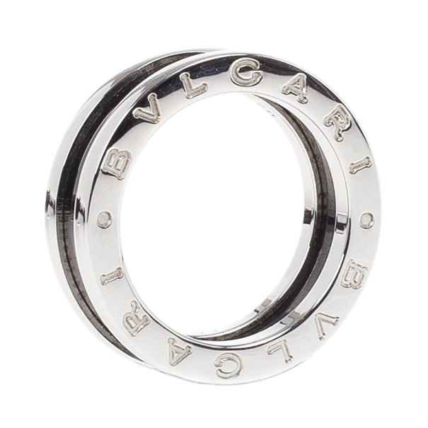 Bvlgari Save The Children Silver Ring Size 51