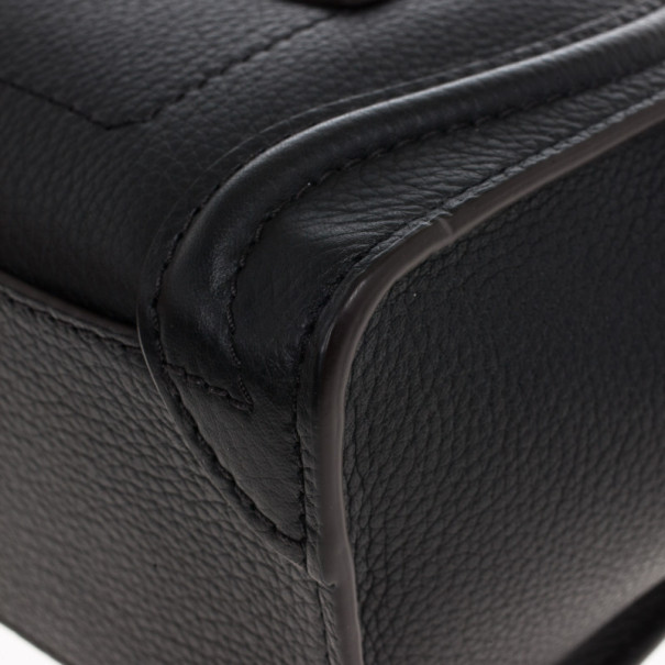 Celine Black Nano Luggage Tote