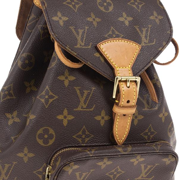 Louis Vuitton Monogram Canvas Montsouris MM Backpack