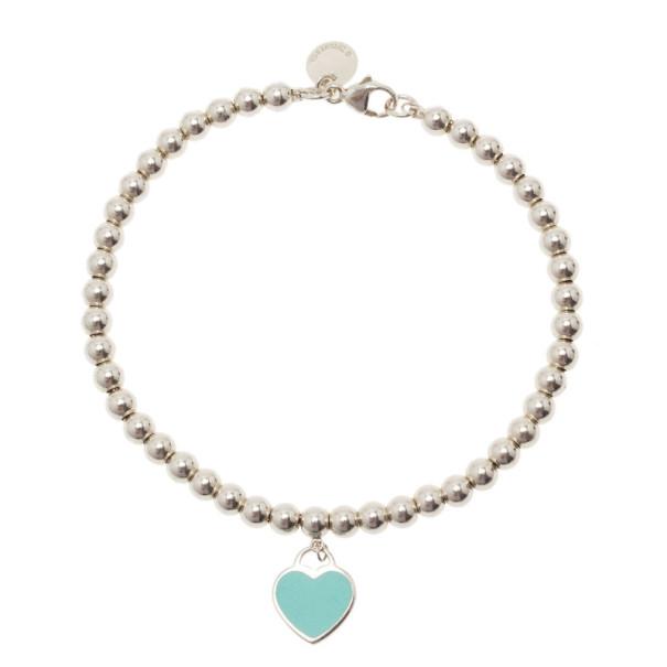 Tiffany & Co. Return To Tiffany Silver Bead Bracelet 17.5CM