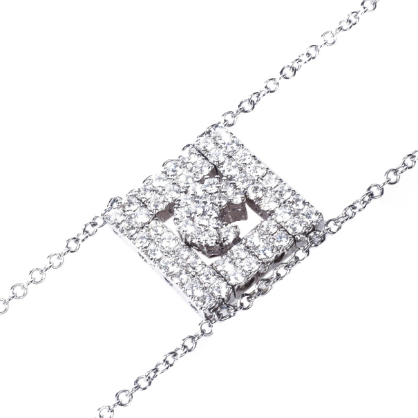 Pasquale Bruni Diamond Moon Chain Bracelet
