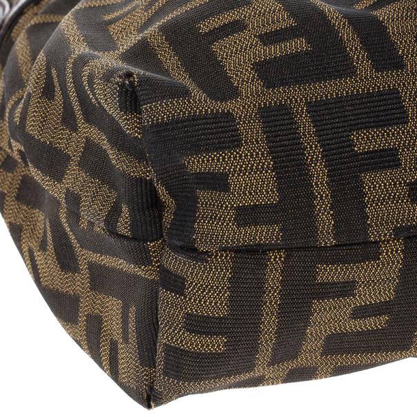 Fendi Chef Zucca Shoulder Bag