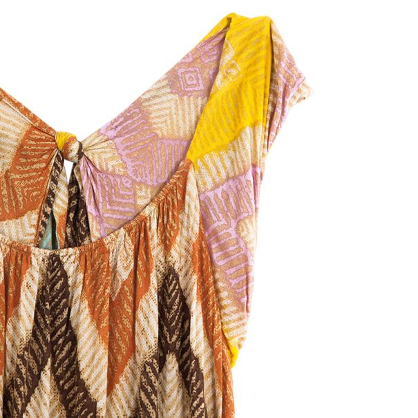Diane Von Furstenberg Ora Printed Dress L