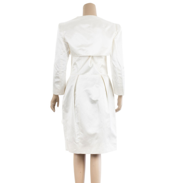 Paule Ka Cream Bolero & Dress Set M