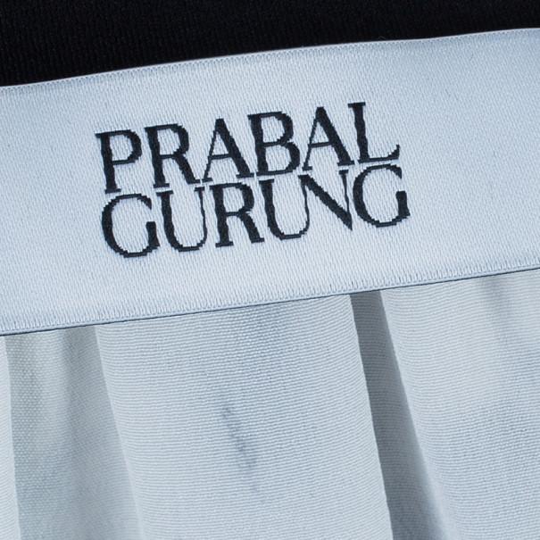 Prabal Gurung Full Sleeve Printed Combo Dress S