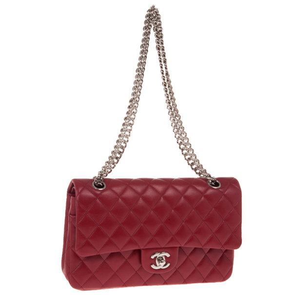 Chanel Red Classic Double Flap Bag