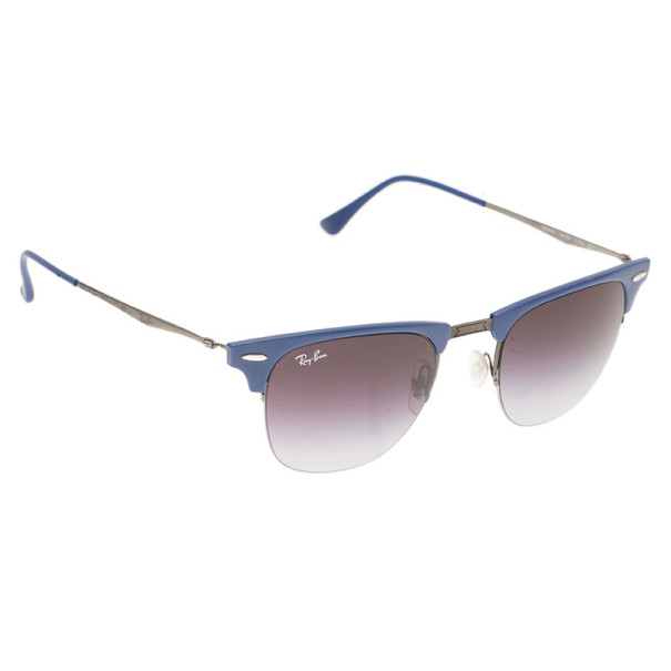 Rayban Blue 8056 Clubmaster Light Ray Sunglasses