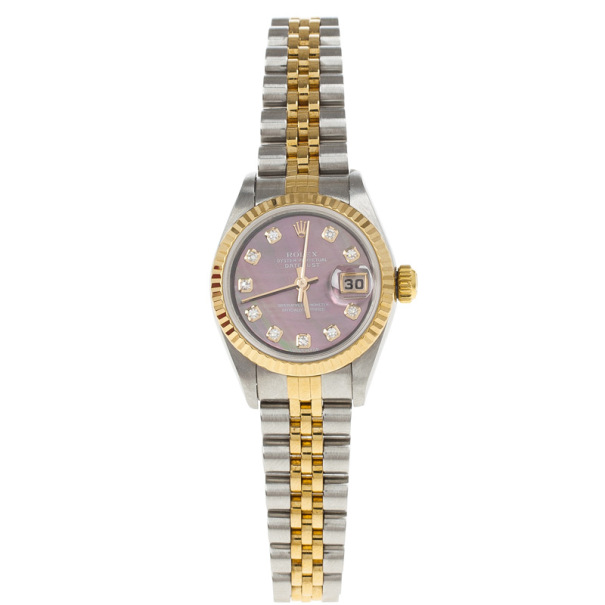 Rolex Oyster Perpetual Datejust Womens Wristwatch 26MM