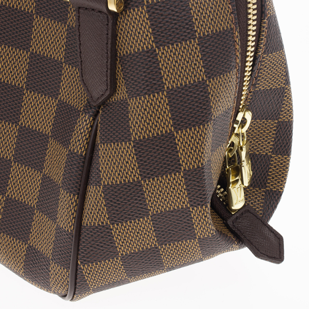 Louis Vuitton Damier Ebene Canvas Belem PM Bag
