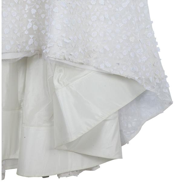 Oscar de la Renta Spring 2012 Guipure Lace Wedding Dress S