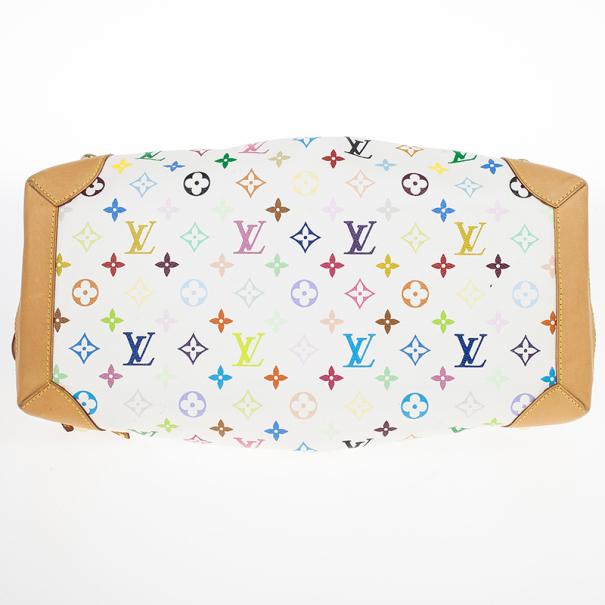 Louis Vuitton White Mulicolor Ursula Bag