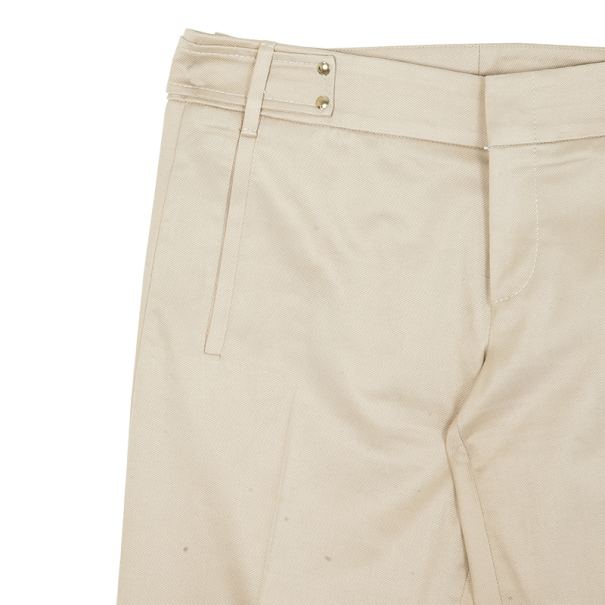 Gucci Beige Formal Flare Pants M