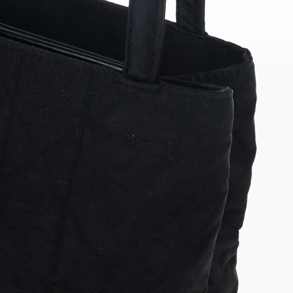 Christian Dior Cannage Canvas Tote
