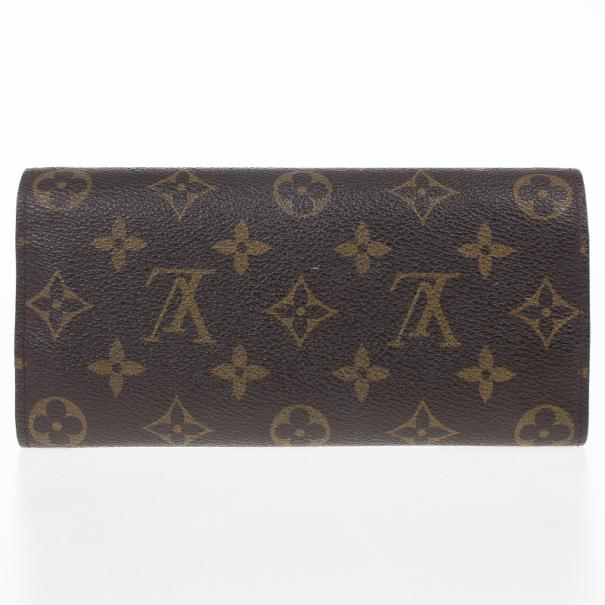 Louis Vuitton Blue Monogram Canvas Envelope Josephine Wallet