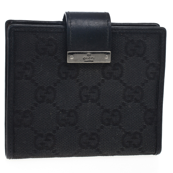 Gucci GG Original Canvas Wallet