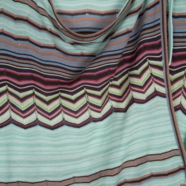 Missoni Wrap Printed Top M
