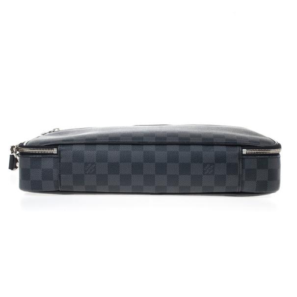 Louis Vuitton Black Damier Ebene Canvas Steeve Messenger