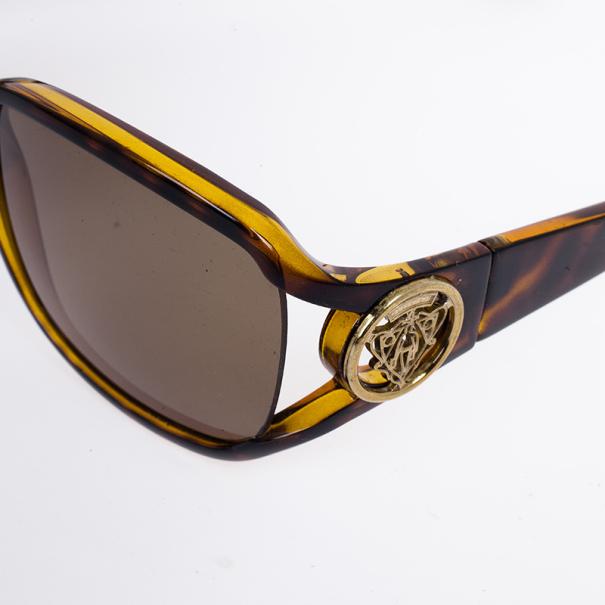 Gucci Leopard Hysteria Square Women Sunglasses