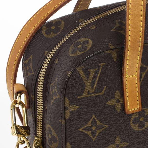 Louis Vuitton Monogram Canvas Spontini Bag