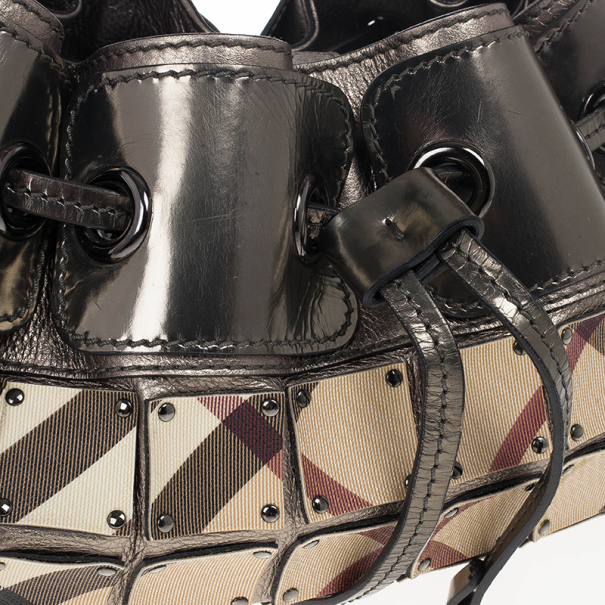 Burberry Nova Check Warrior Armor Bag