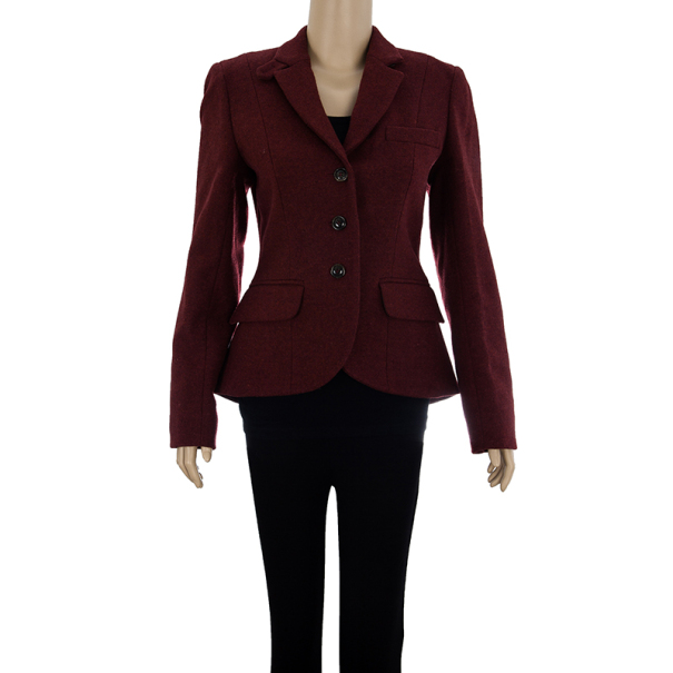 Weekend Max Mara Wool Blazer Jacket S