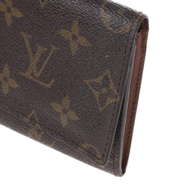 Louis Vuitton Monogram Canvas Long Flap Wallet