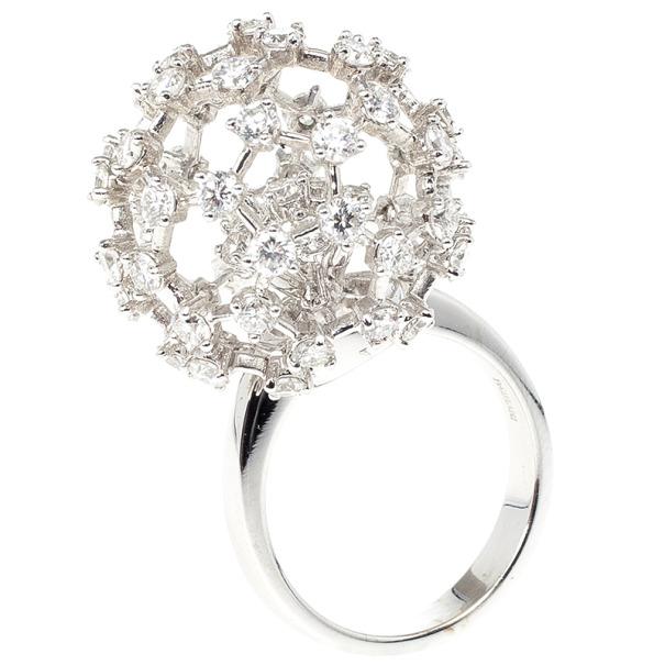 Damiani Sphere Diamond Ring Size 54