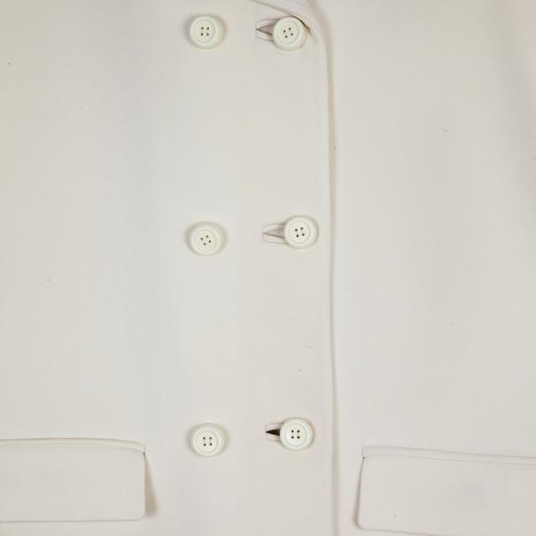 Balenciaga Cream Trench Coat S