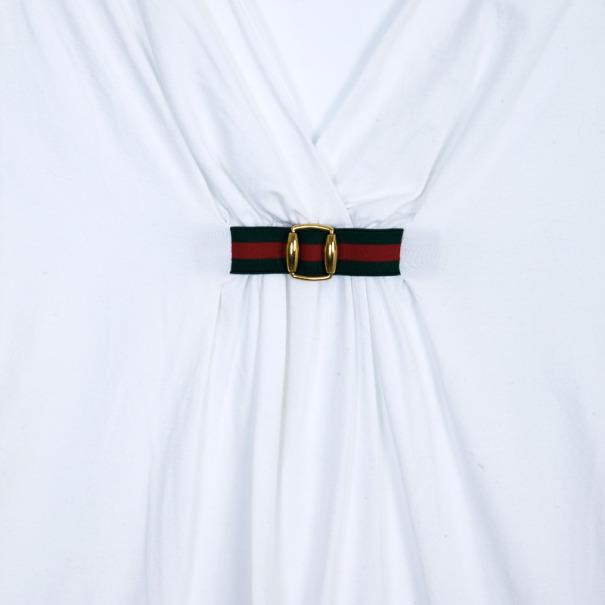 Gucci Cotton Sleeveless Stretch Top L