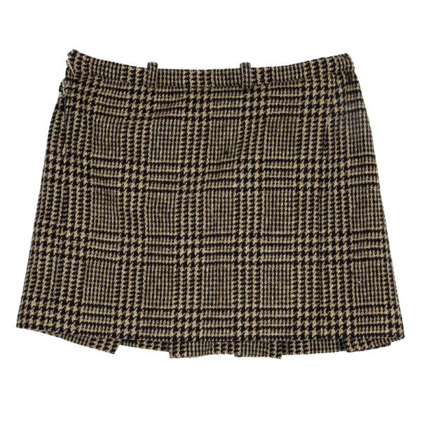 Balenciaga Tweed A-Line Skirt S