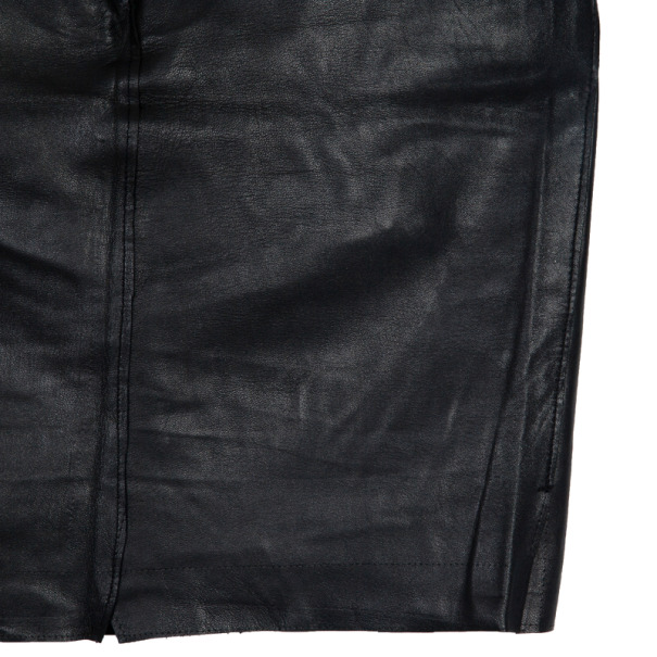 Dolce and Gabbana Leather Skirt M