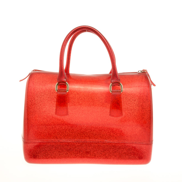 Furla Red Candy Satchel