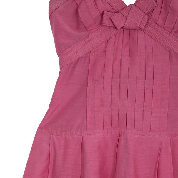 Celine Sleeveless Cocktail Dress Size S
