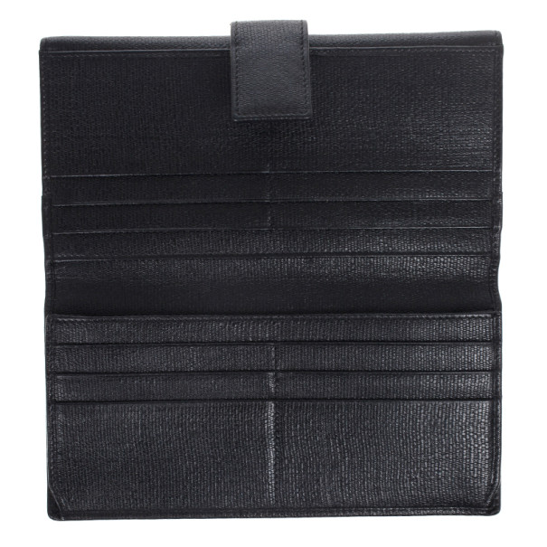Saint Laurent Large Y Line Flap Wallet