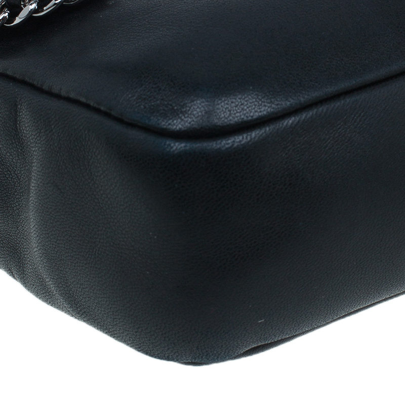 Chanel Black Lambskin Madison Chain Me Flap Bag